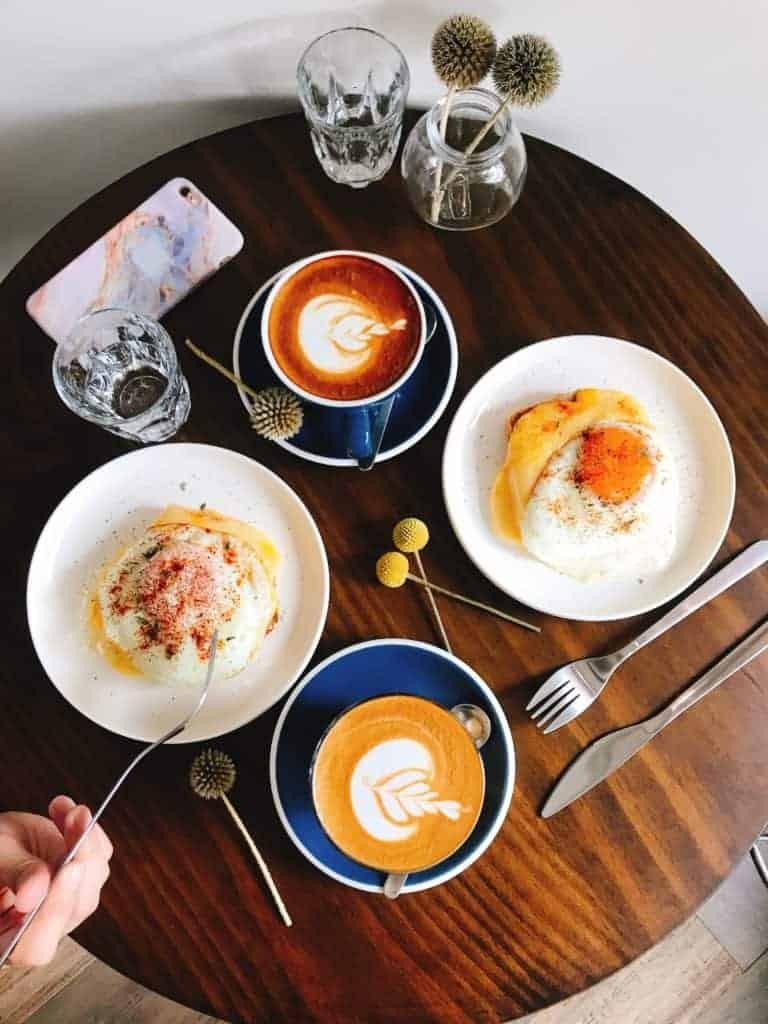 台北行天宮美食-璞家工作室 自製酸種麵包質感咖啡廳 7