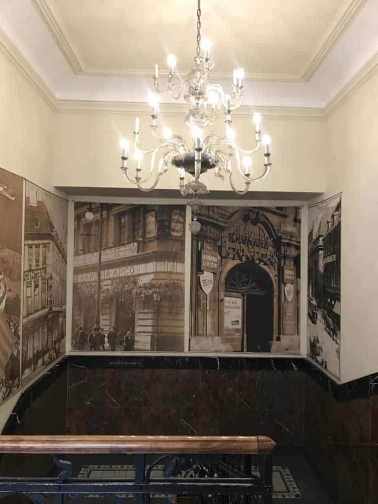 捷克布拉格Cafe Louvre 羅浮咖啡/走進百年咖啡館 4
