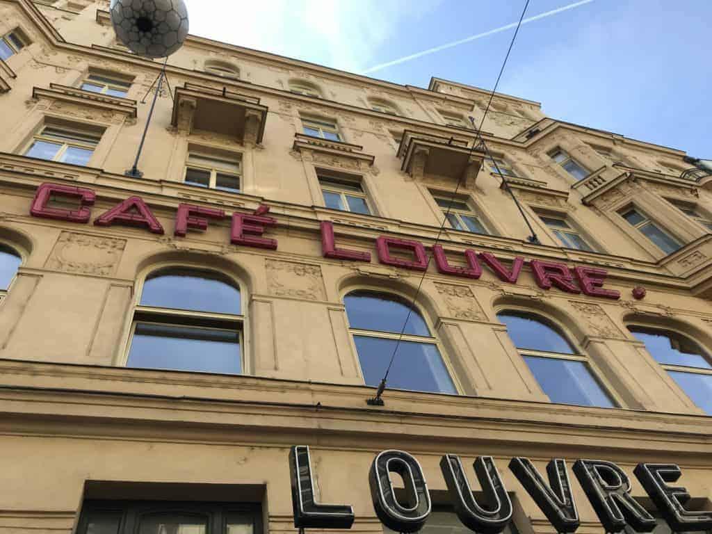 捷克布拉格Cafe Louvre 羅浮咖啡/走進百年咖啡館 22