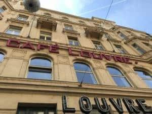 捷克布拉格Cafe Louvre 羅浮咖啡/走進百年咖啡館 2