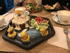 西班牙巴塞隆納美食/超高人氣早午餐Brunch & cake 6