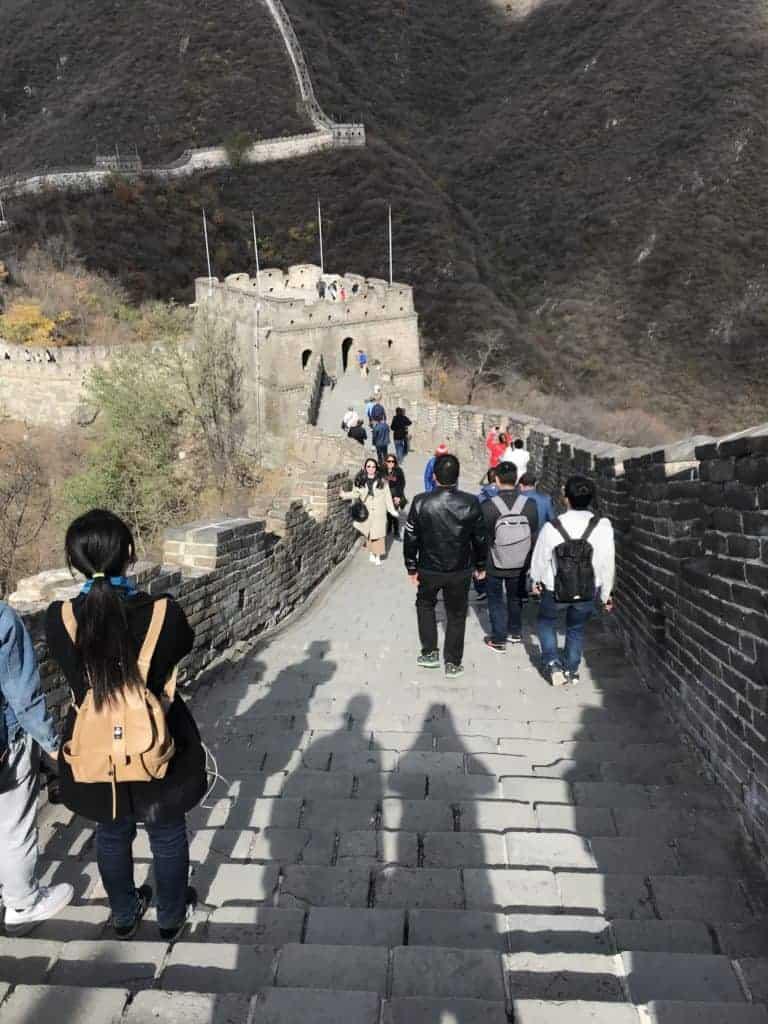 北京自由行/終於登上世界遺產-萬里長城-慕田峪長城自助教學攻略 11