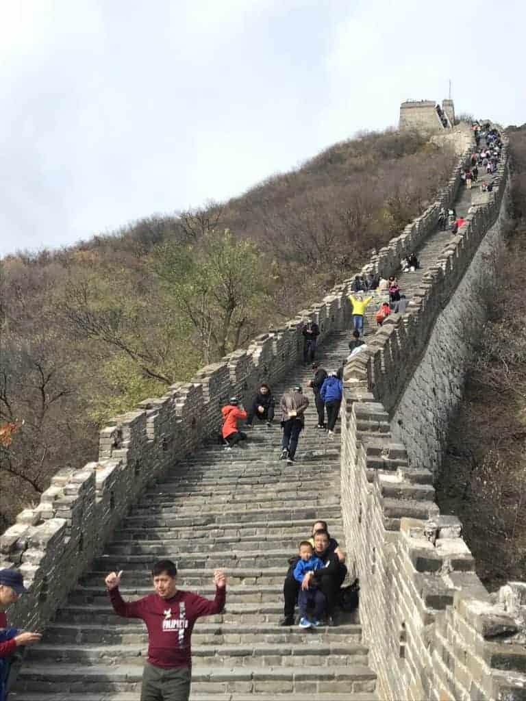 北京自由行/終於登上世界遺產-萬里長城-慕田峪長城自助教學攻略 15