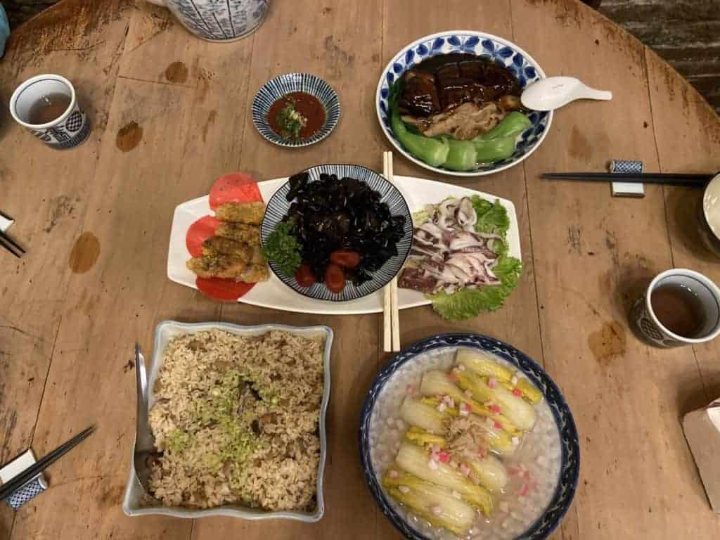 台南美食/ 筑馨居-百年老宅無菜單料理 11
