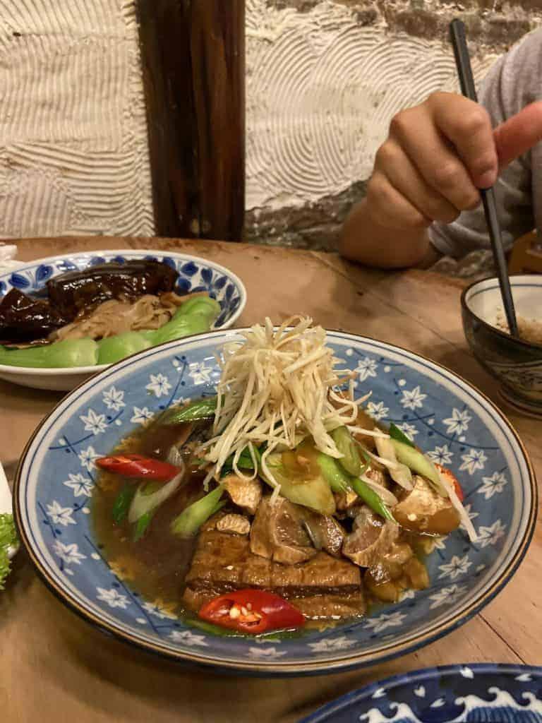 台南美食/ 筑馨居-百年老宅無菜單料理 12