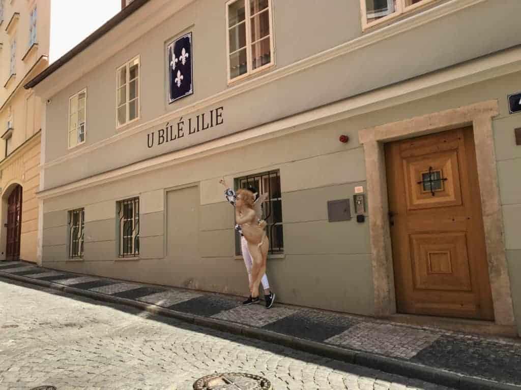 布拉格城堡區住宿推薦/白百合酒店CP值超高入住四星酒店 Hotel At The White Lily 3