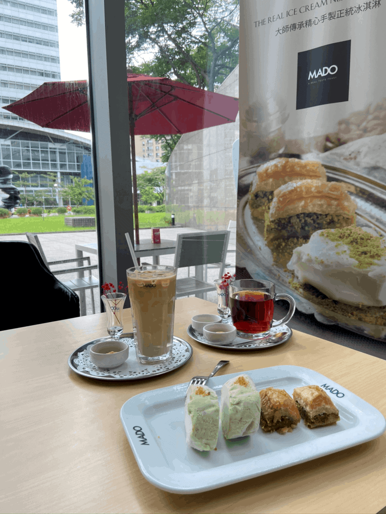 台北南港美食/MADO 南港店土耳其知名連鎖甜點店 21