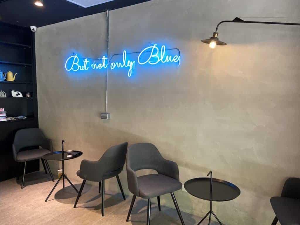 台北內湖 / Banana Blue Coffee 高CP值不限時咖啡-香蕉藍內湖二號店 3