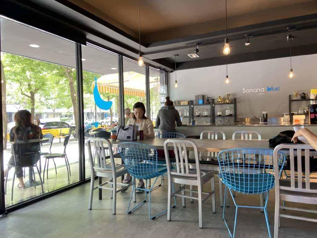 台北內湖 / Banana Blue Coffee 高CP值不限時咖啡-香蕉藍內湖二號店 4