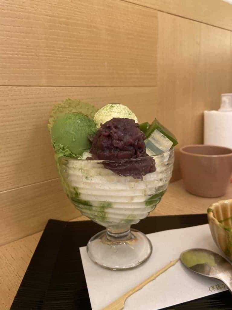 台北中山區美食/伊藤久右衛門-來自京都的宇治抹茶名店 12
