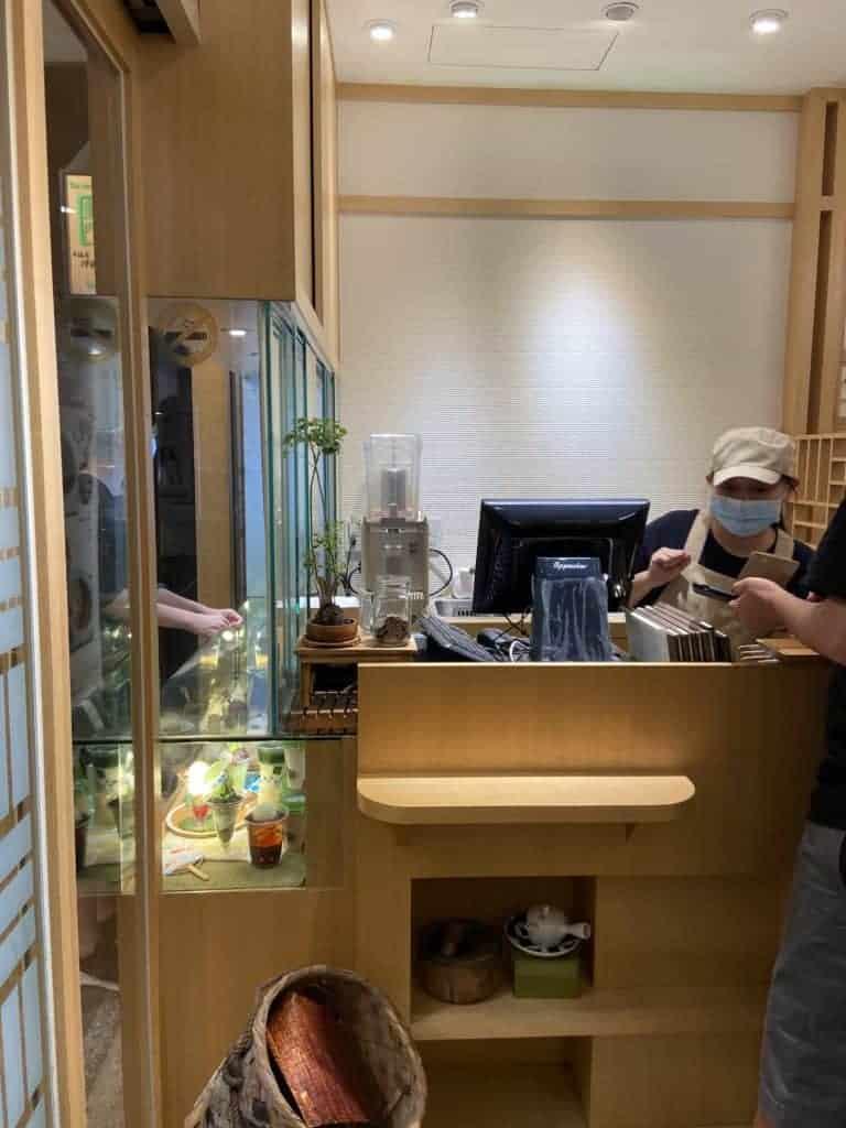 台北中山區美食/伊藤久右衛門-來自京都的宇治抹茶名店 4