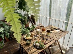 台南早午餐/小北家灶咖ZAOKA 純白老屋森林風早午餐 2