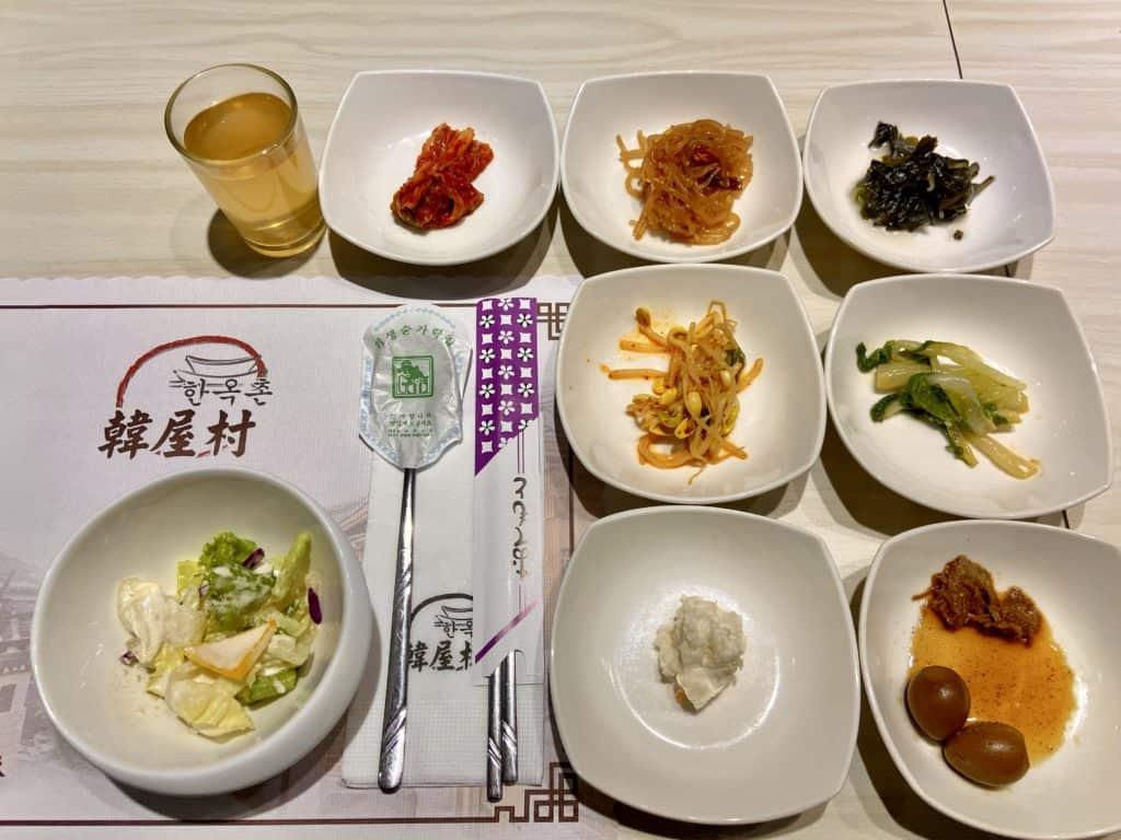 韓屋村 韓定食/東區最強韓國料理 國父紀念館美食 小菜無限續 1