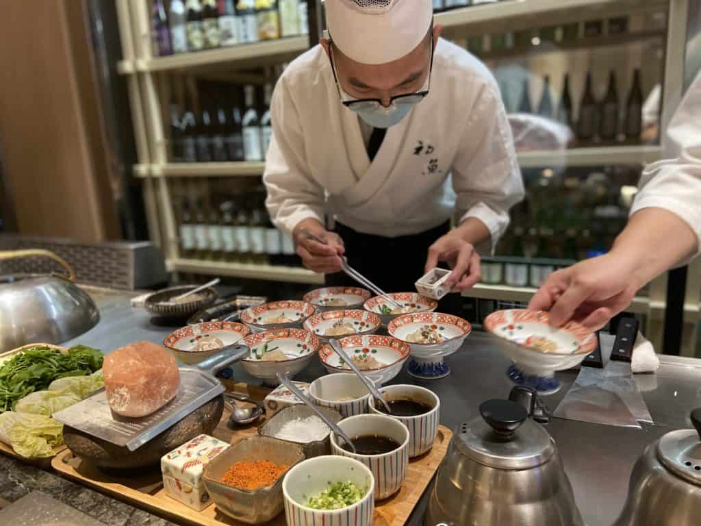 台北信義/ 初魚鐵板燒 高CP值 無菜單日式鐵板料理 1