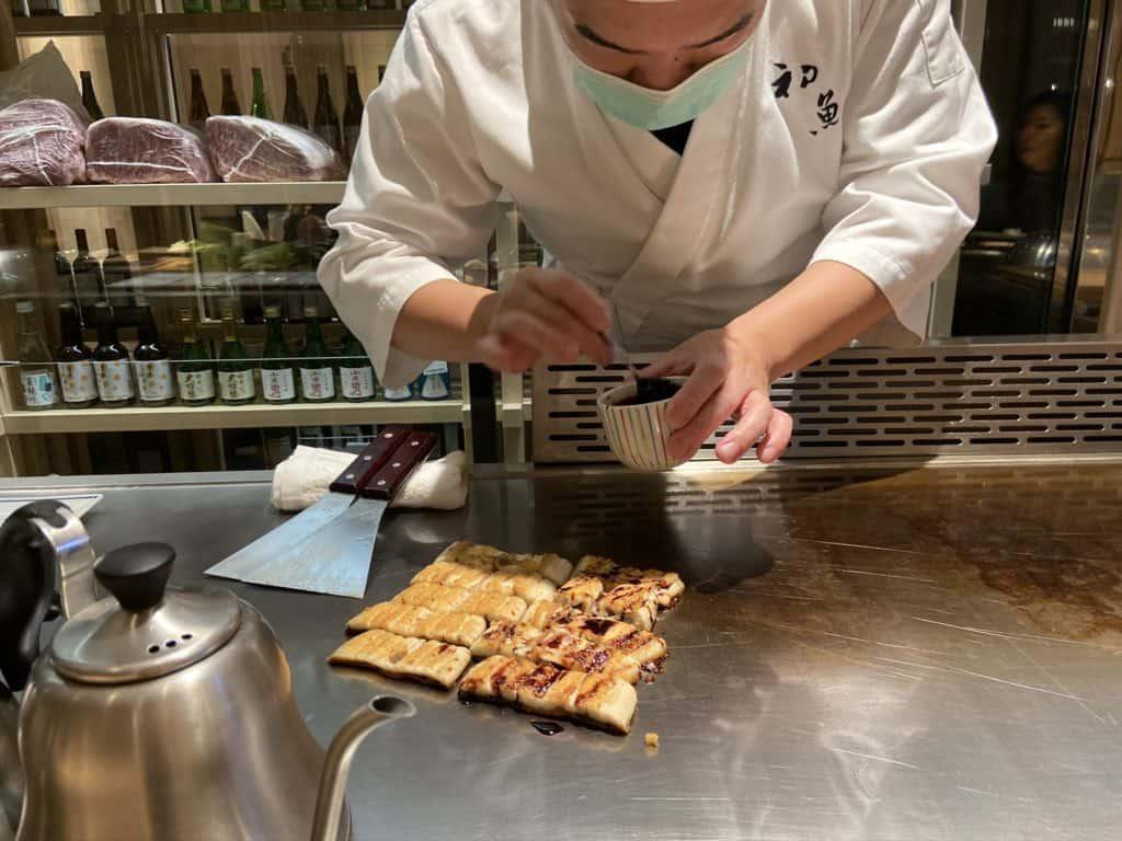 台北信義/ 初魚鐵板燒 高CP值 無菜單日式鐵板料理 14