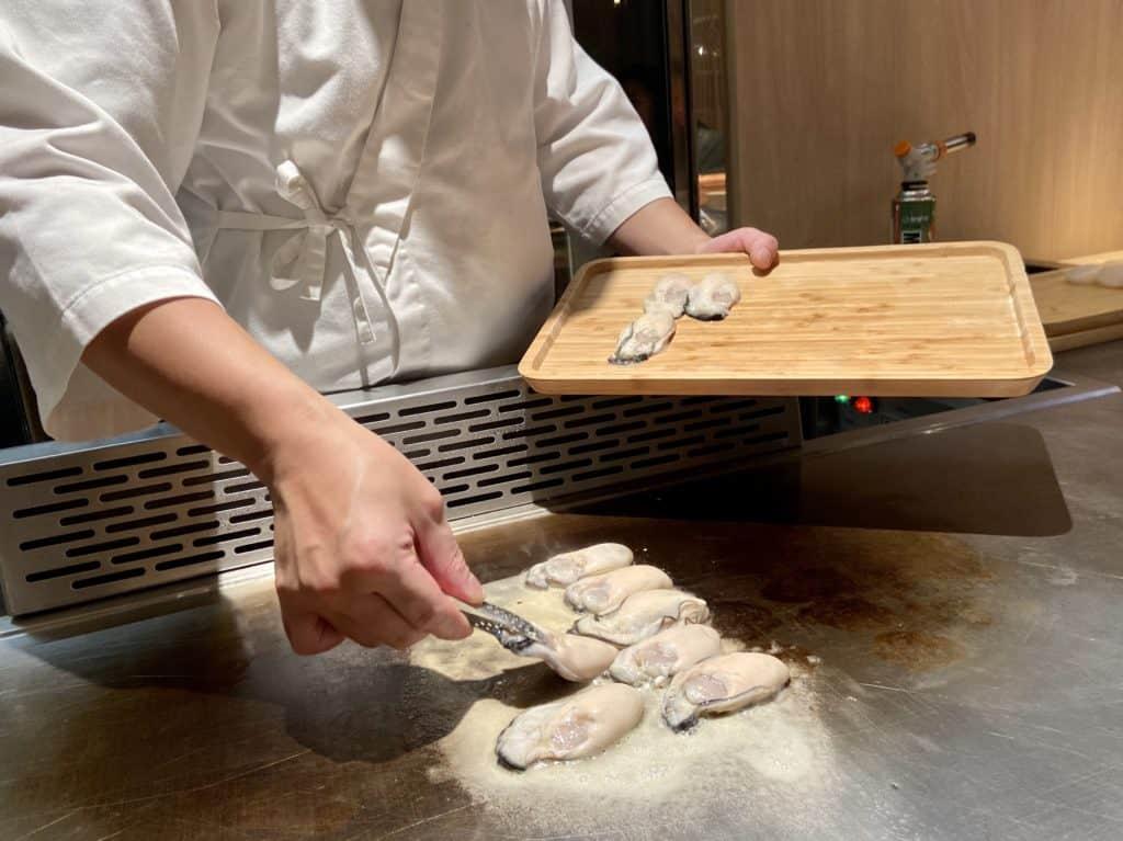 台北信義/ 初魚鐵板燒 高CP值 無菜單日式鐵板料理 16