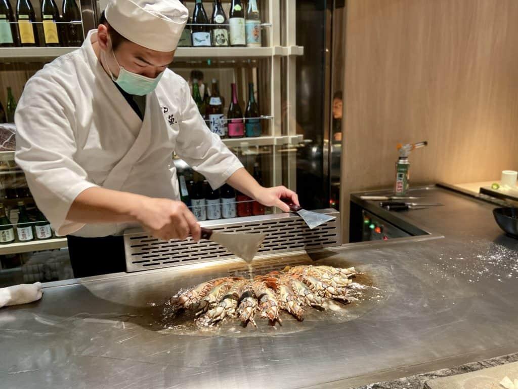 台北信義/ 初魚鐵板燒 高CP值 無菜單日式鐵板料理 22