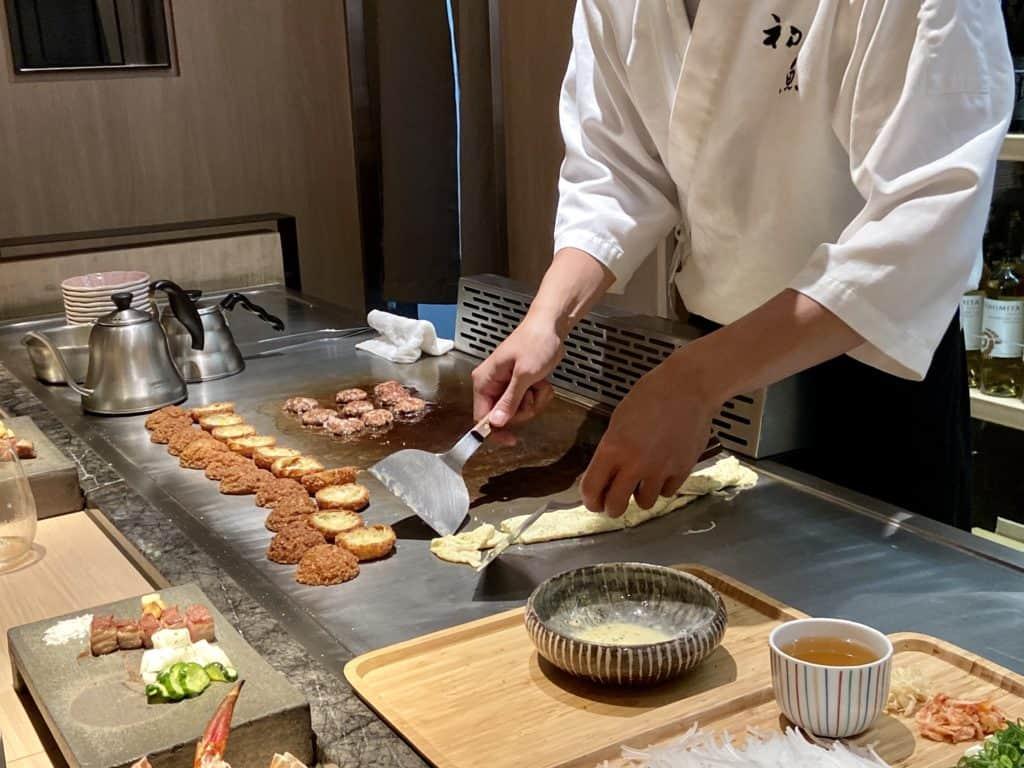 台北信義/ 初魚鐵板燒 高CP值 無菜單日式鐵板料理 29