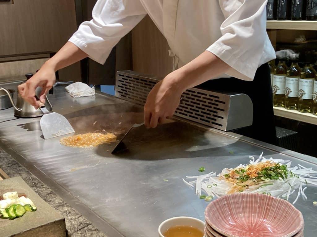 台北信義/ 初魚鐵板燒 高CP值 無菜單日式鐵板料理 34