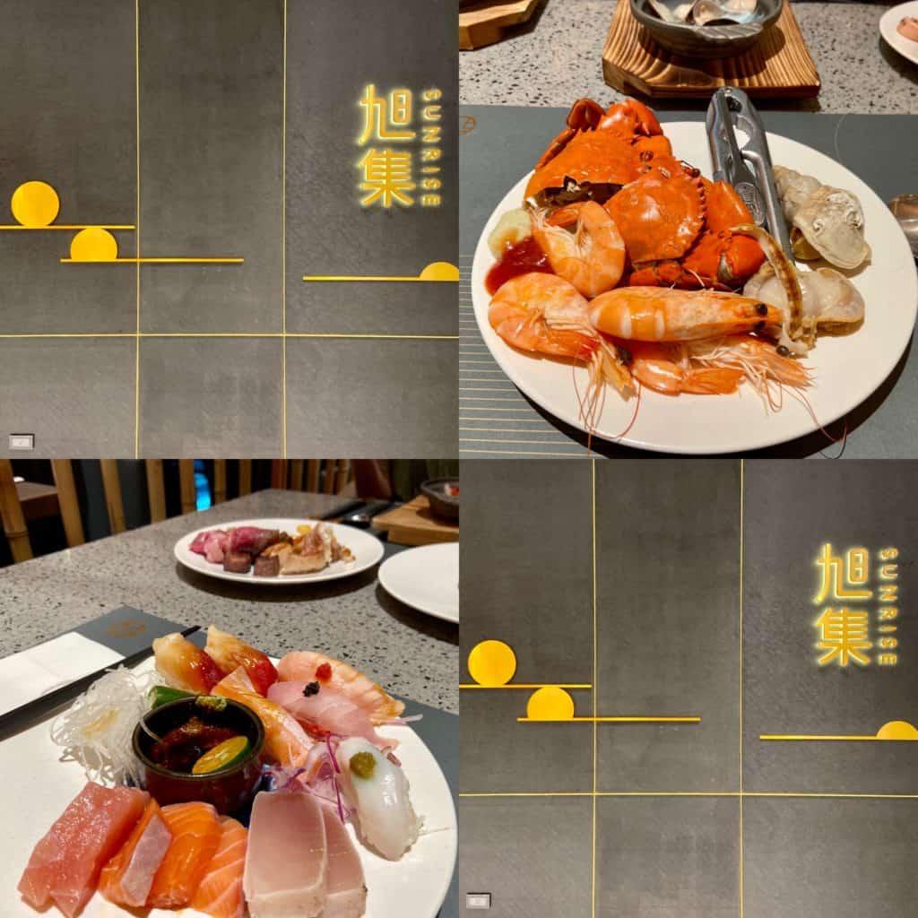 台北信義/旭集和食集錦SUNRISE 自助餐 日本料理吃到飽 饗饗集團新品牌 1