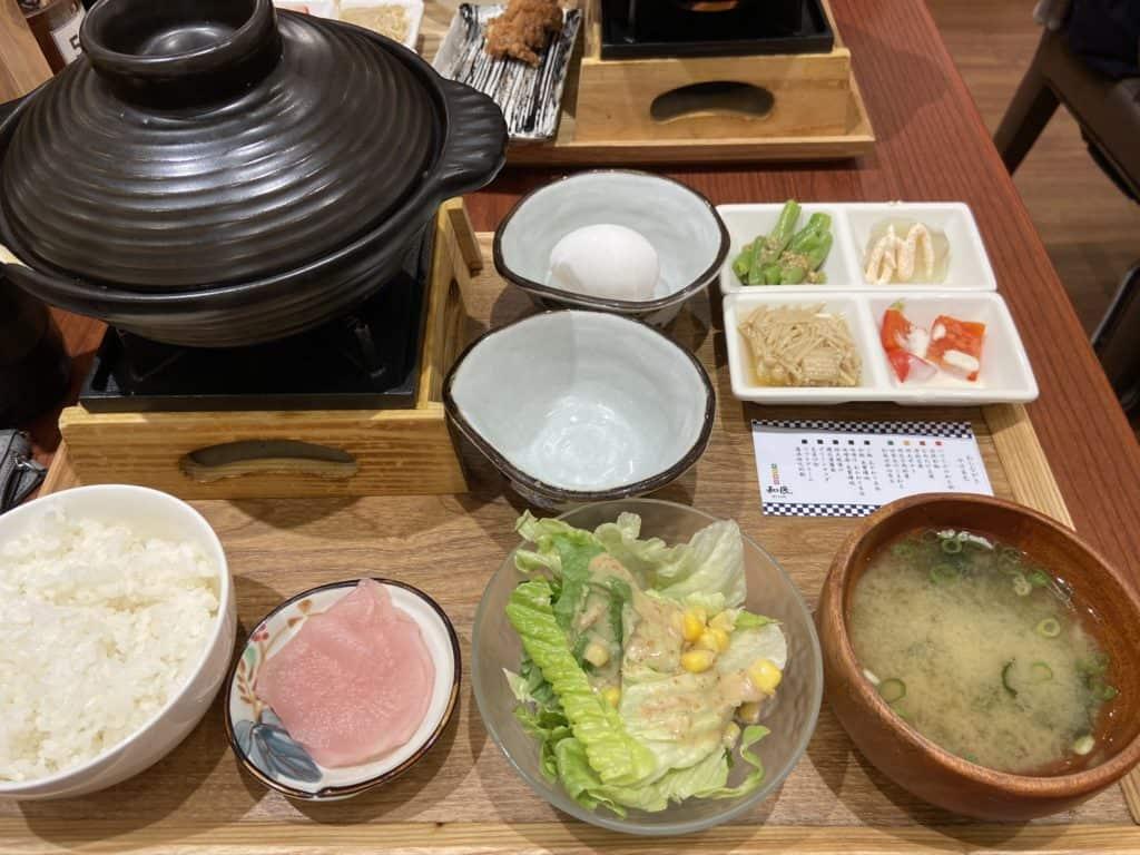台北信義/ 微風松高美食 和民手做廚房 日式定食 白飯味增湯免費續碗 12