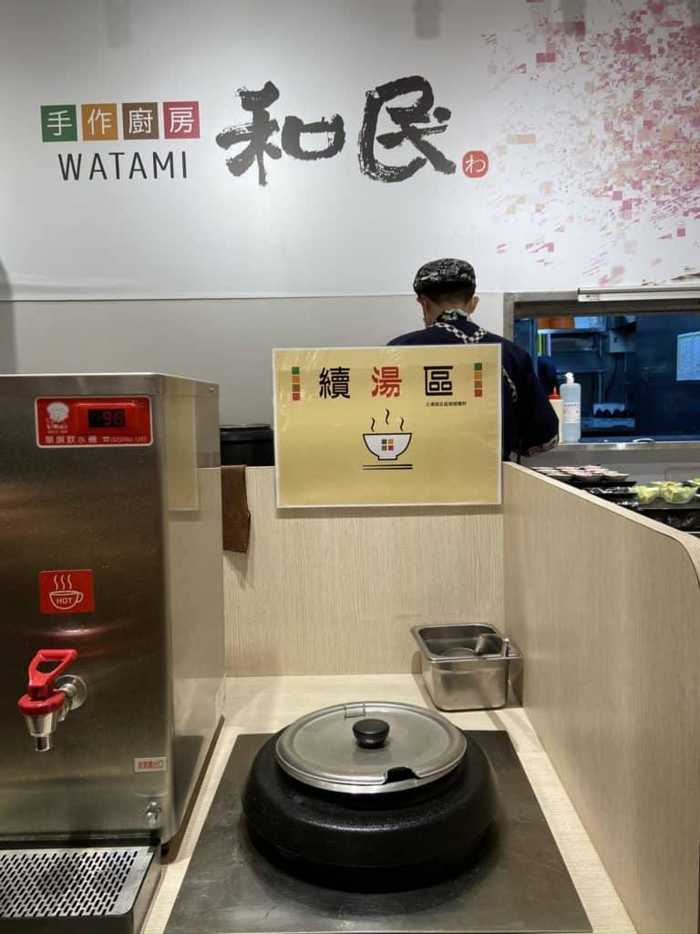 台北信義/ 微風松高美食 和民手做廚房 日式定食 白飯味增湯免費續碗 6