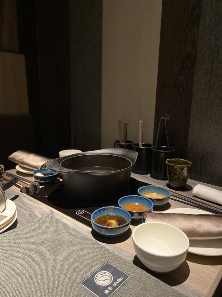 台北101美食/食令·shabu 火鍋界的愛馬仕 A5鹿兒島和牛、法國頂級藍龍蝦 情侶浪漫約會新選擇 3