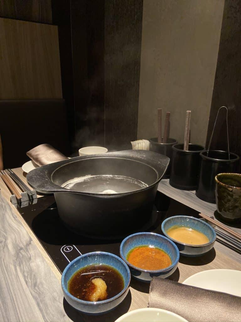 台北101美食/食令·shabu 火鍋界的愛馬仕 A5鹿兒島和牛、法國頂級藍龍蝦 情侶浪漫約會新選擇 11