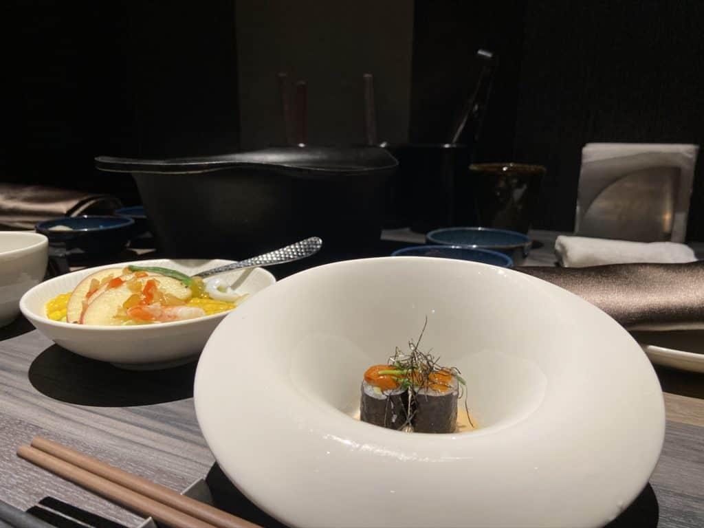 台北101美食/食令·shabu 火鍋界的愛馬仕 A5鹿兒島和牛、法國頂級藍龍蝦 情侶浪漫約會新選擇 12