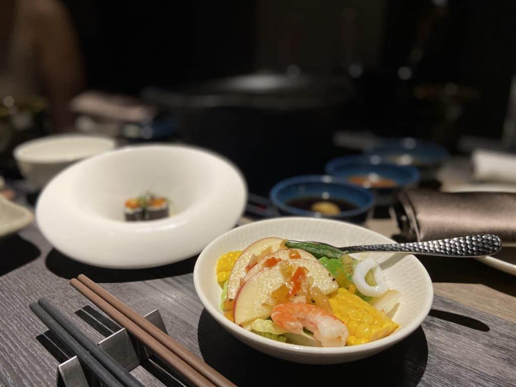 台北101美食/食令·shabu 火鍋界的愛馬仕 A5鹿兒島和牛、法國頂級藍龍蝦 情侶浪漫約會新選擇 13