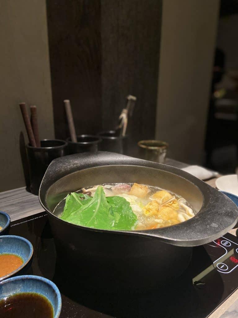 台北101美食/食令·shabu 火鍋界的愛馬仕 A5鹿兒島和牛、法國頂級藍龍蝦 情侶浪漫約會新選擇 14