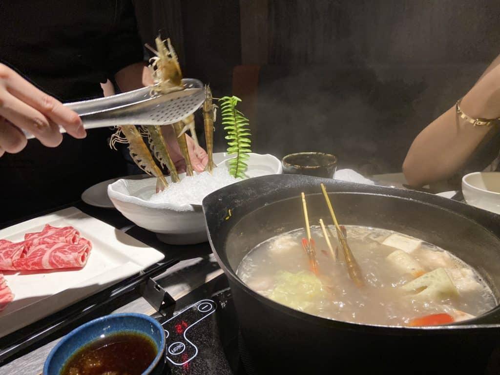 台北101美食/食令·shabu 火鍋界的愛馬仕 A5鹿兒島和牛、法國頂級藍龍蝦 情侶浪漫約會新選擇 27