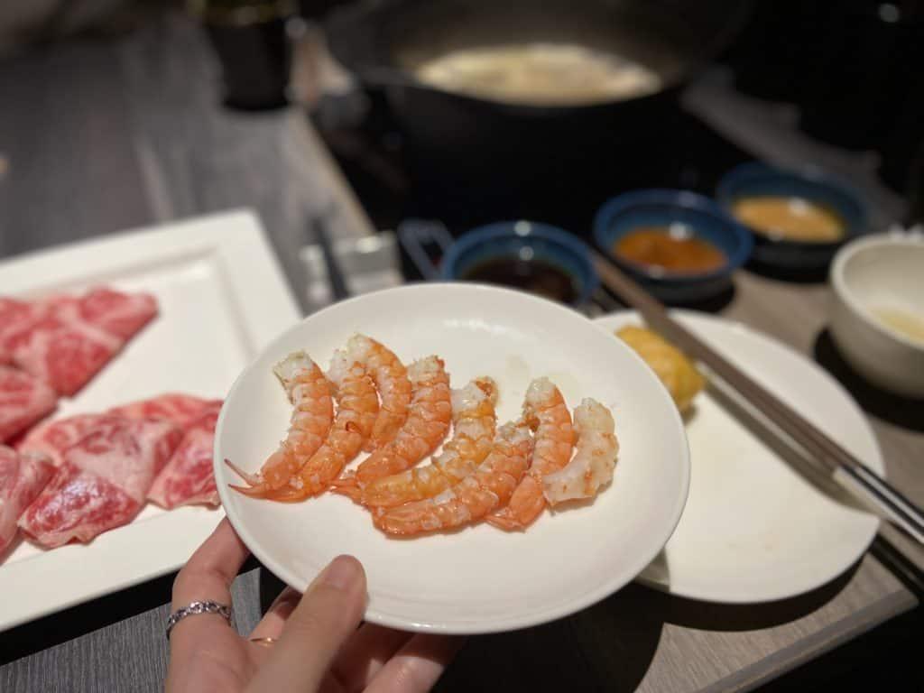 台北101美食/食令·shabu 火鍋界的愛馬仕 A5鹿兒島和牛、法國頂級藍龍蝦 情侶浪漫約會新選擇 32