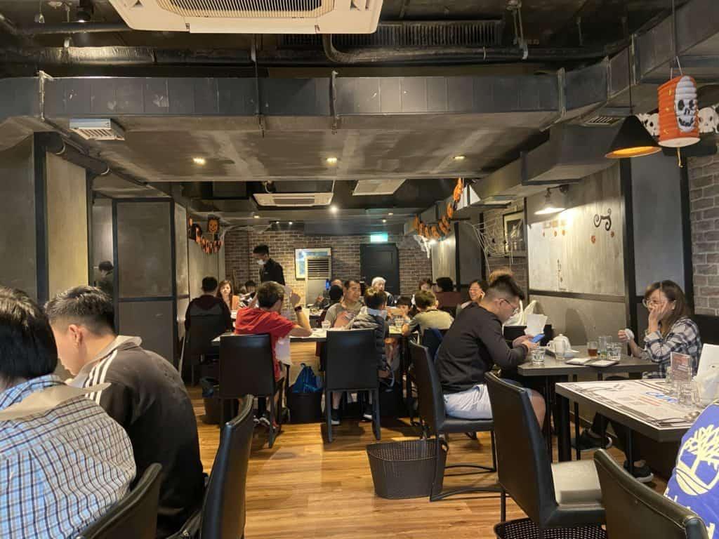 台北大安 凱恩斯岩燒餐廳 採用400度火山岩石板燒烤牛排 經典海陸雙人套餐 6