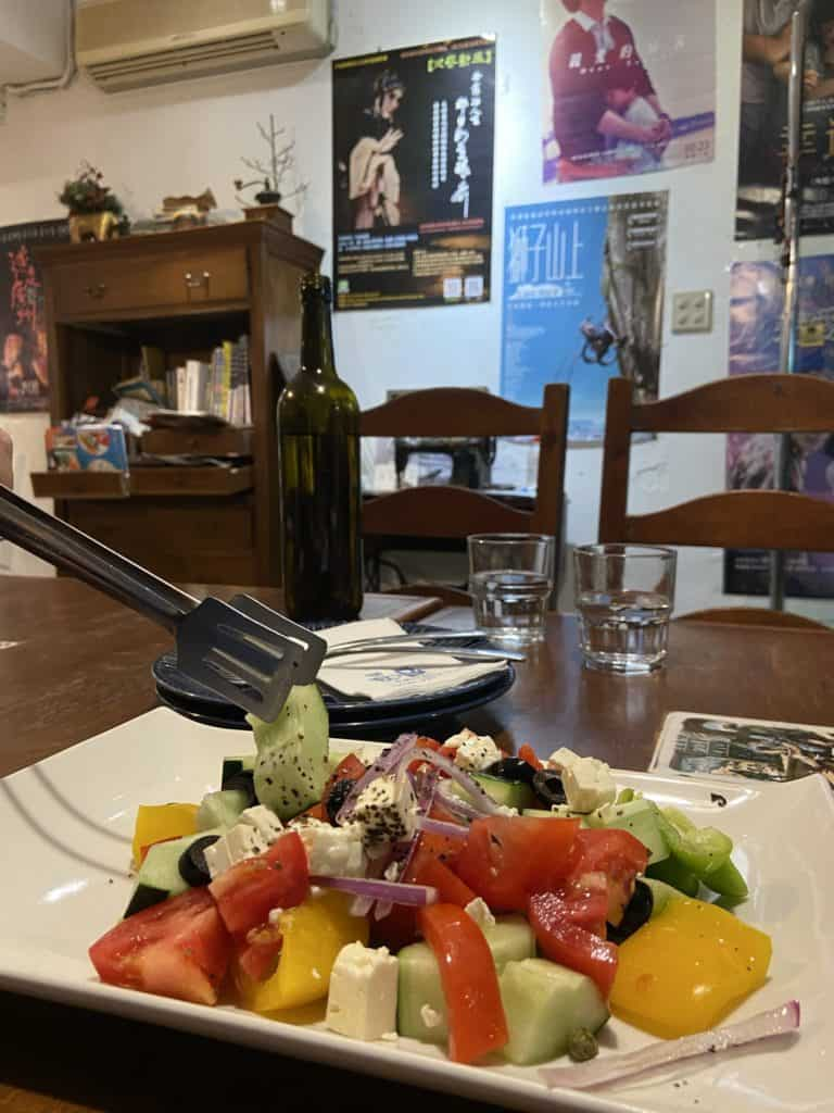 台北公館 希臘左巴 台大店 深藏在巷弄裡的地中海 異國風味滿分的希臘料理 16