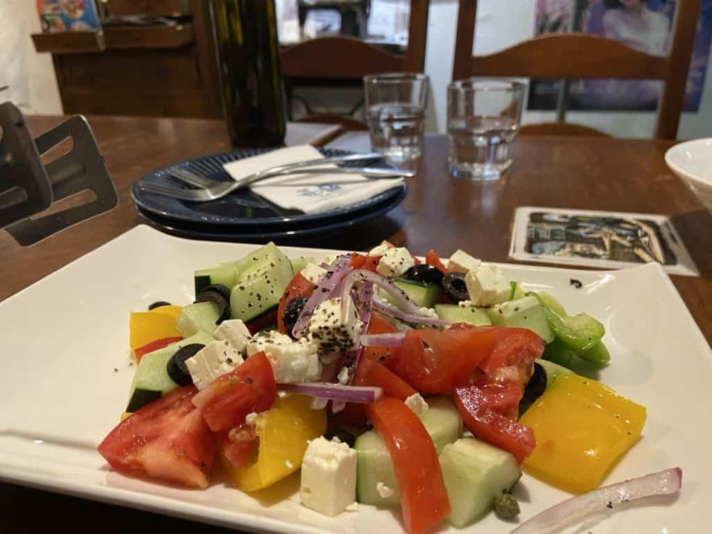 台北公館 希臘左巴 台大店 深藏在巷弄裡的地中海 異國風味滿分的希臘料理 17