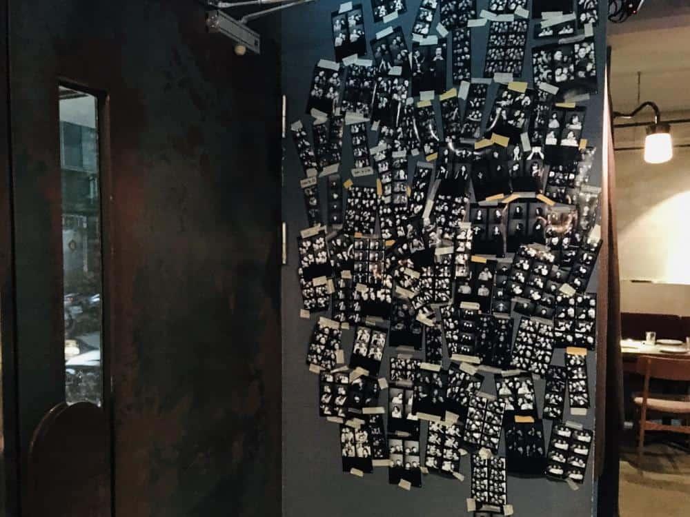 台北大安 Nul Taipei餐酒館 拍貼機與餐酒館的結合 黑白復古拍貼機 享受餐酒微醺 捷運科技大樓站美食 5