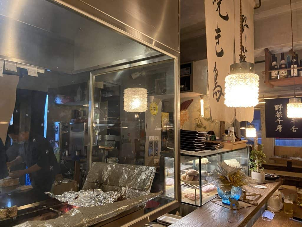 台北 南京復興居酒屋 京丘炭火燒鳥專門店 居酒燒鳥野菜捲 道地京都風味 串燒烤物 10