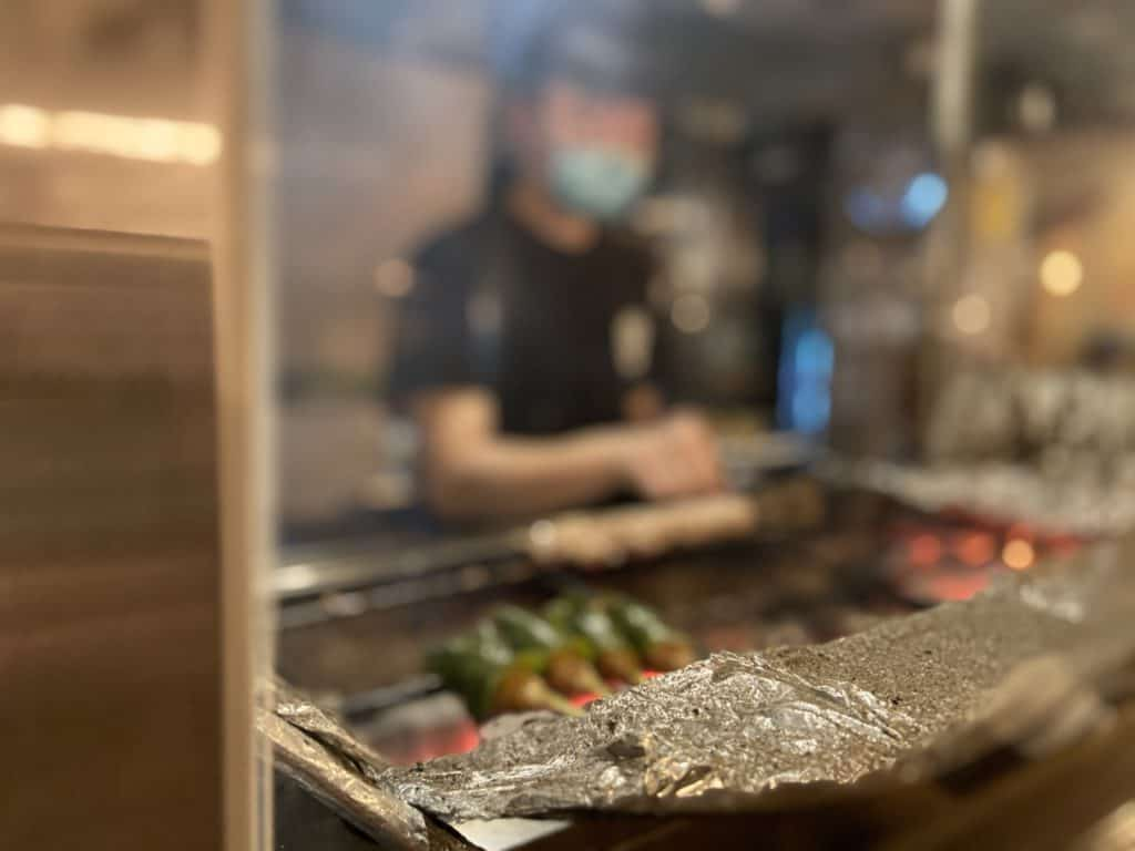 台北 南京復興居酒屋 京丘炭火燒鳥專門店 居酒燒鳥野菜捲 道地京都風味 串燒烤物 11