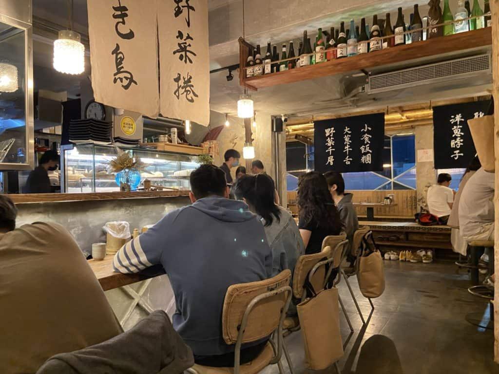 台北 南京復興居酒屋 京丘炭火燒鳥專門店 居酒燒鳥野菜捲 道地京都風味 串燒烤物 8
