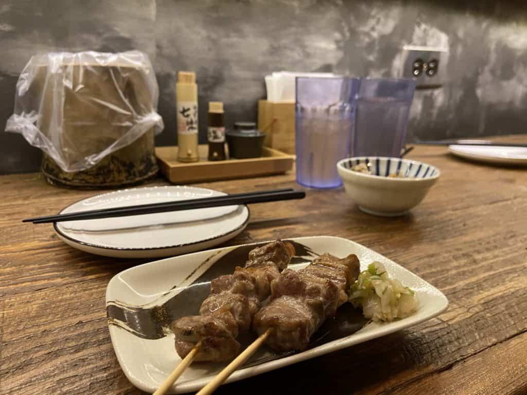台北 南京復興居酒屋 京丘炭火燒鳥專門店 居酒燒鳥野菜捲 道地京都風味 串燒烤物 16