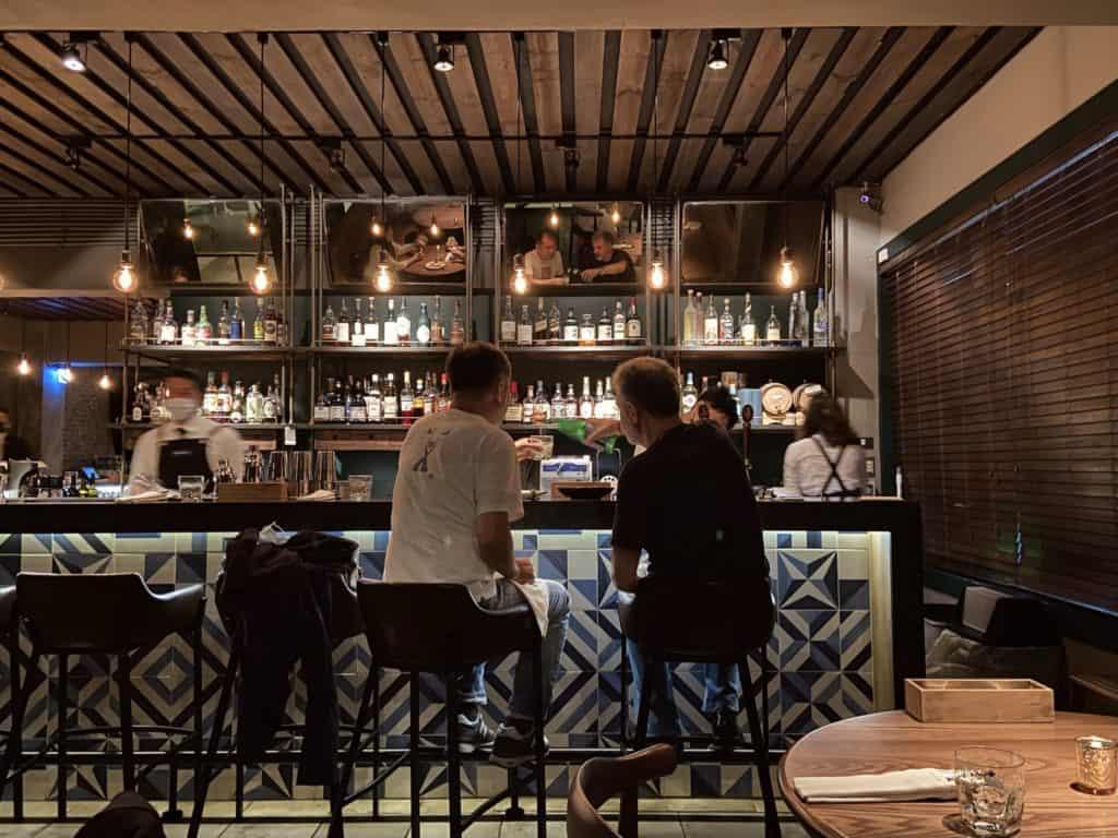 米其林一星餐酒館 Longtail Restaurant &Bar 林明健主廚的時尚餐酒館 台北大安米其林一星餐酒館 4